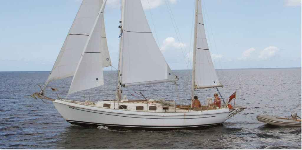 best cruising sailboat under 40 feet