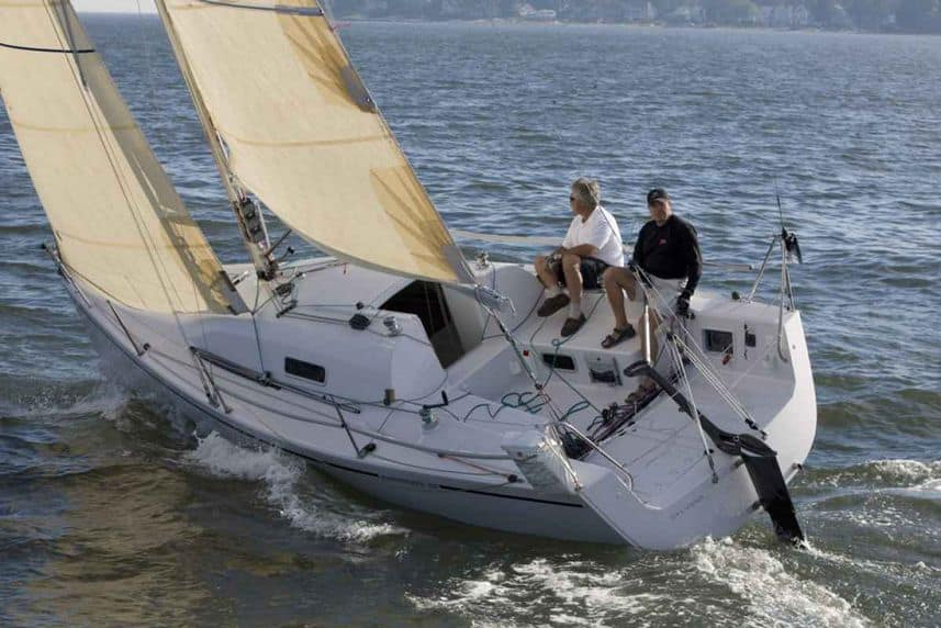 best cruising sailboats under 40 feet
