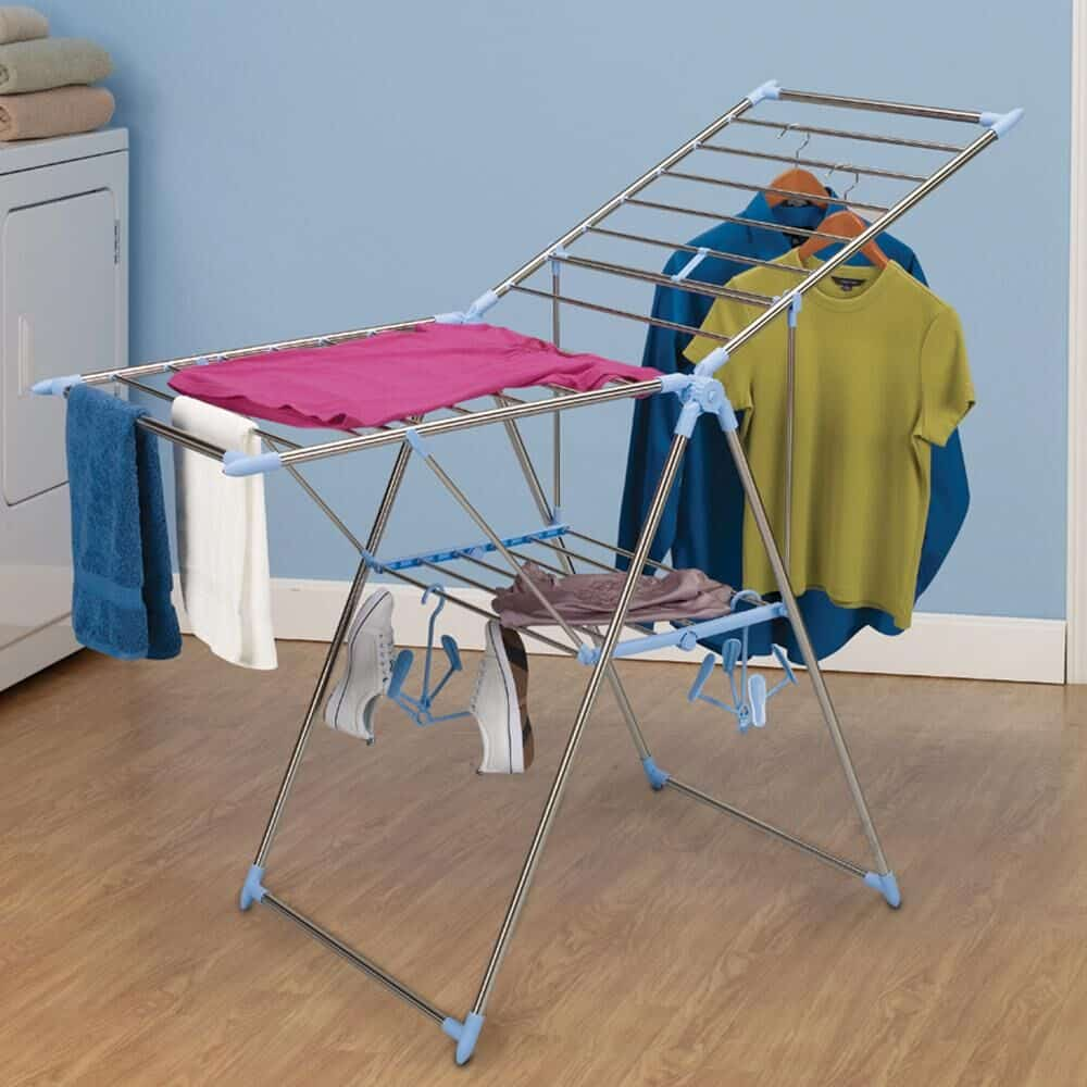 RV clothes drying rack