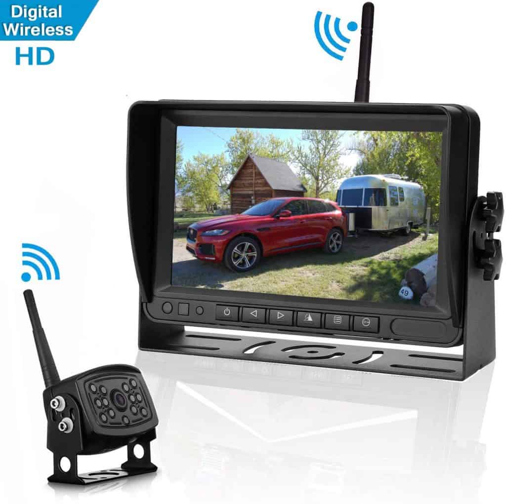 RV rear view camera system