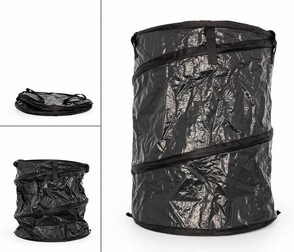 collapsible trash can for RV
