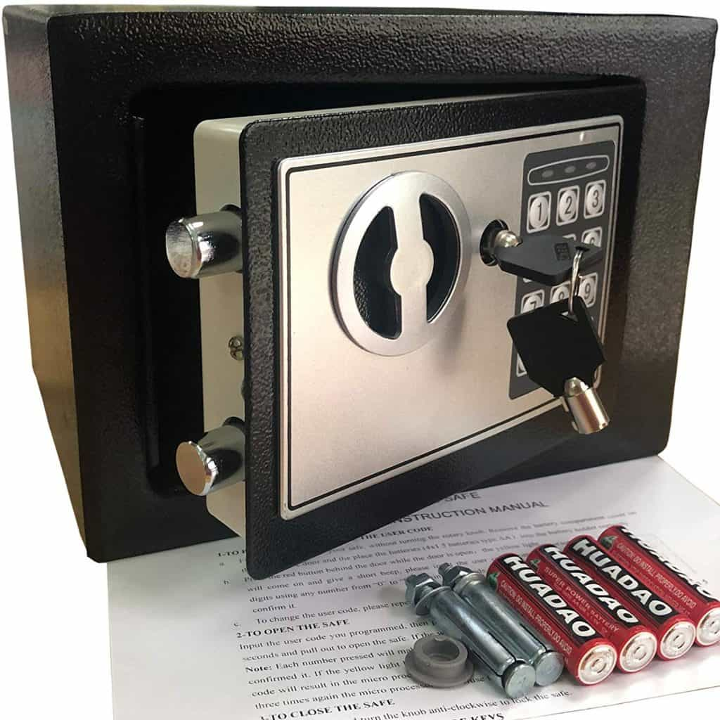 electronic safe for RV